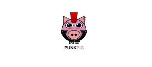 Punk Pig logo
