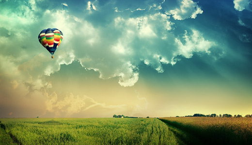 Sunlight hot air balloon free download hi res high resolution wallpapers