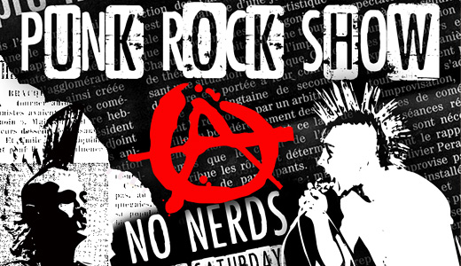 Punk rock eroded fonts free download
