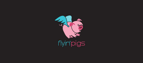flyin'pigs logo