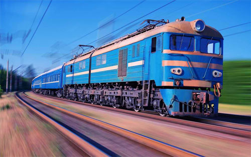 Full Speed Train Traveling wallpaper