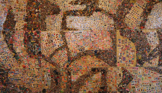 Stamp mosaic textures free download hi res high resolution