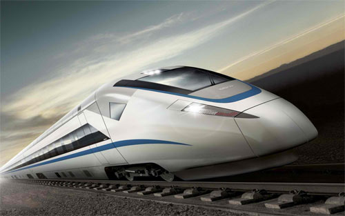 high speed train wallpaper