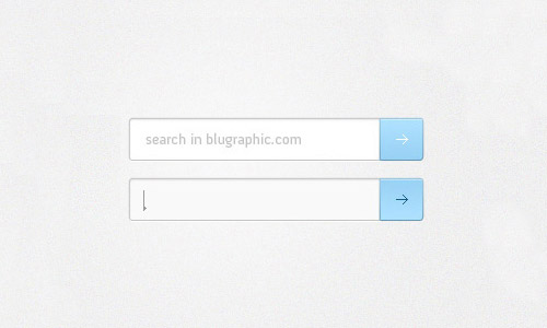 Grunge Search Bar PSD