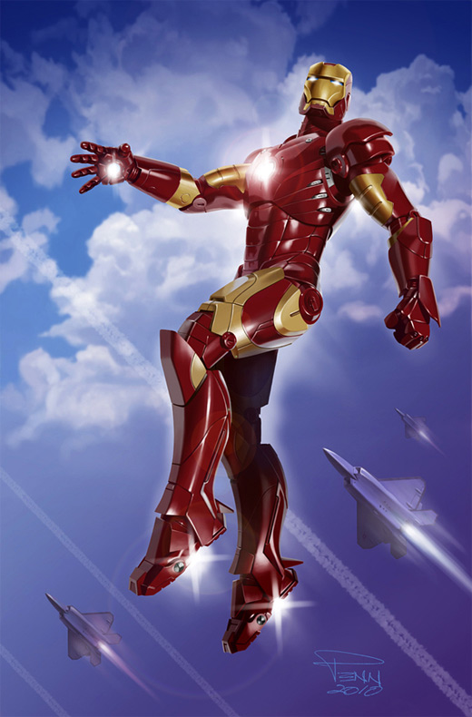 Nice ironman iron man illustrations artworks