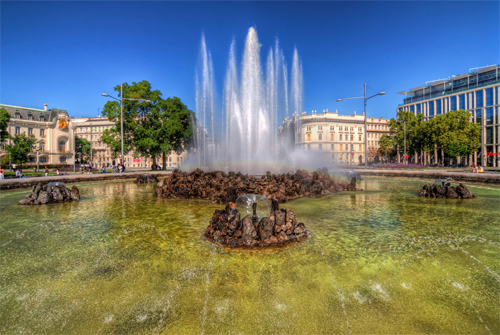 Fountain in Vienna