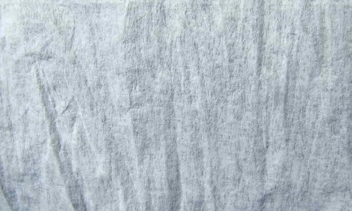 Papery tissue texture