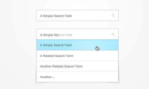 Searchbox (psd)