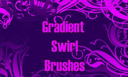 Gradient Swirls brushes