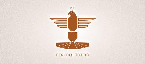 Peacock Totem logo