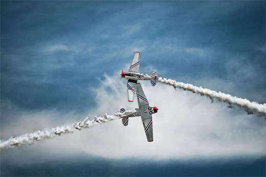 Exhibition aerobatic airplane aircraftphotography