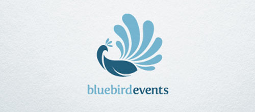 Blue Bird Events Logo