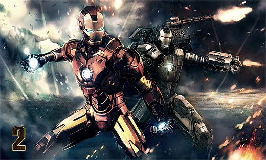 Awesome ironman iron man illustrations artworks