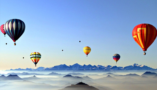 Blue sky hot air balloon free download hi res high resolution wallpapers