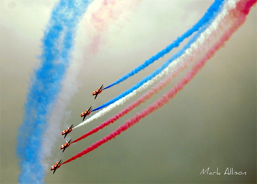 Colored smoke aerobatic airplane aircraftphotography