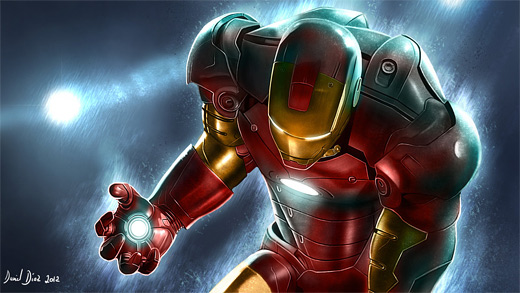 Cool ironman iron man illustrations artworks