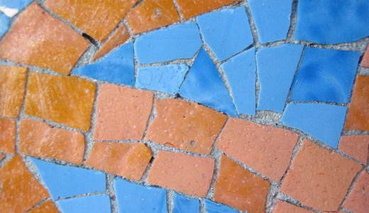 Orange blue mosaic textures free download hi res high resolution