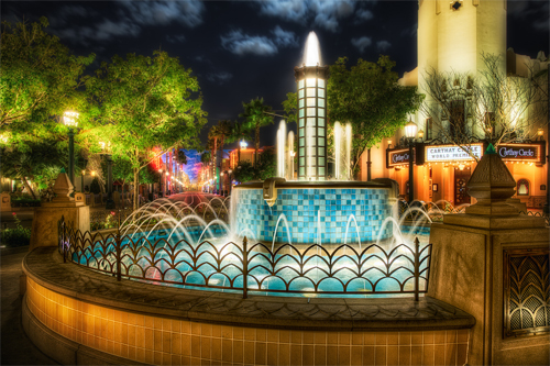 Carthay Circle Fountain