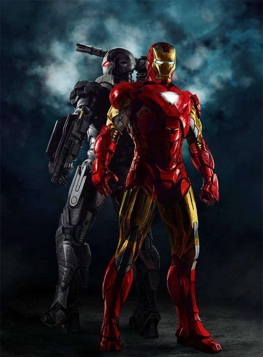 Epic ironman iron man illustrations artworks