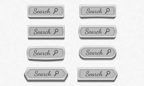 Search boxes free psd