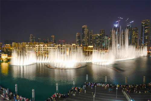 Dubai Water Fountains