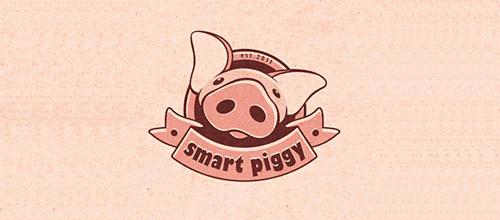 Smart piggy logo
