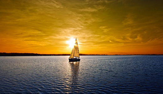 Sunset beautiful sailboat boats free wallpapers hi res high resolution