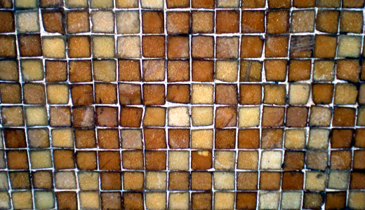 Brown small tiles mosaic textures free download hi res high resolution