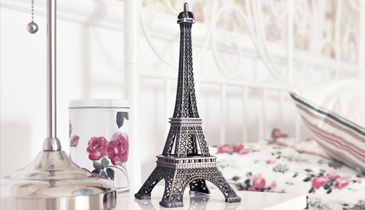 White eiffel tower wallpapers free download hi res