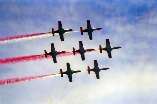 Red spain aerobatic airplane aircraftphotography