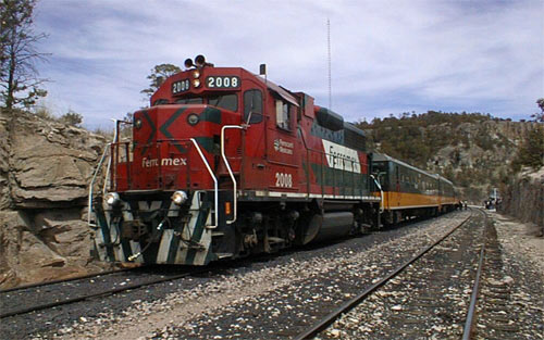 Copper Canyon Train wallpaper