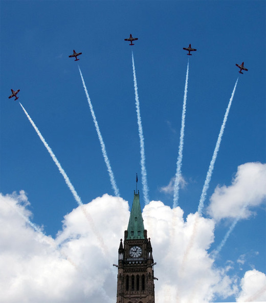 Peace tower aerobatic airplane aircraftphotography