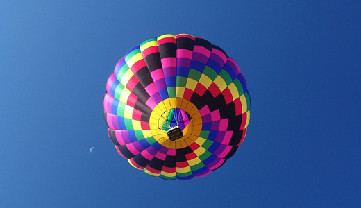 Colorful hot air balloon free download wallpapers
