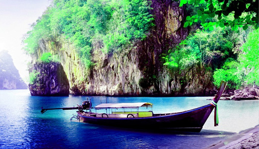 Island boats free wallpapers hi res high resolution