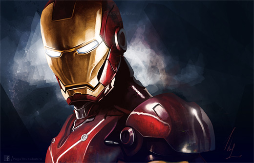 Mask ironman iron man illustrations artworks