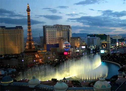 Las Vegas fountaines