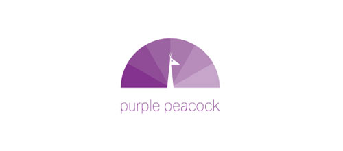 Purple Peacock logo