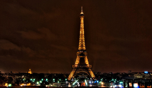 Eiffel Tower Wallpaper Black Popular Desktop Wallpaper