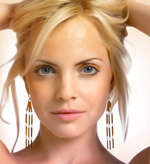 Mena suvari digital art painting celebrity