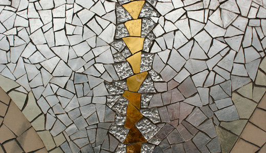 Silver gold tiles irregular mosaic textures free download hi res high resolution
