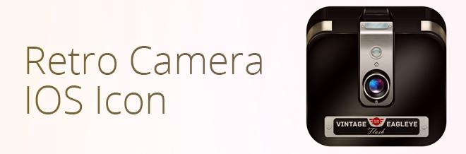 Create a Stylish Retro Camera iOS Icon in Photoshop