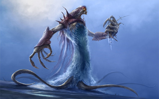 Sea monster water colossus rift video game