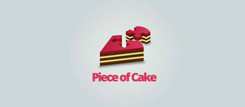 Piece of Cake logo