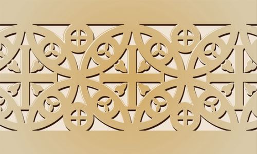Byzantian ornament