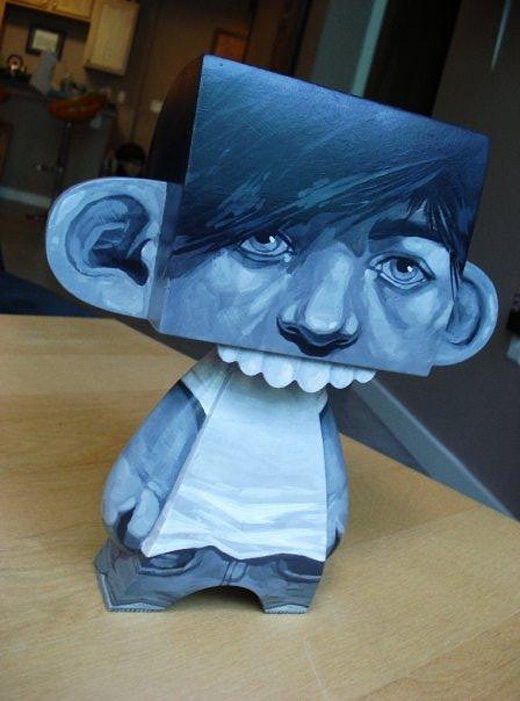 Portrait madl mad vinyl toy