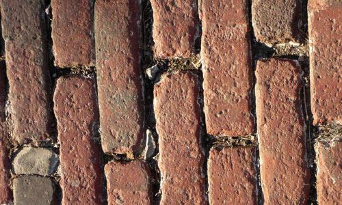 texture: cobblestones