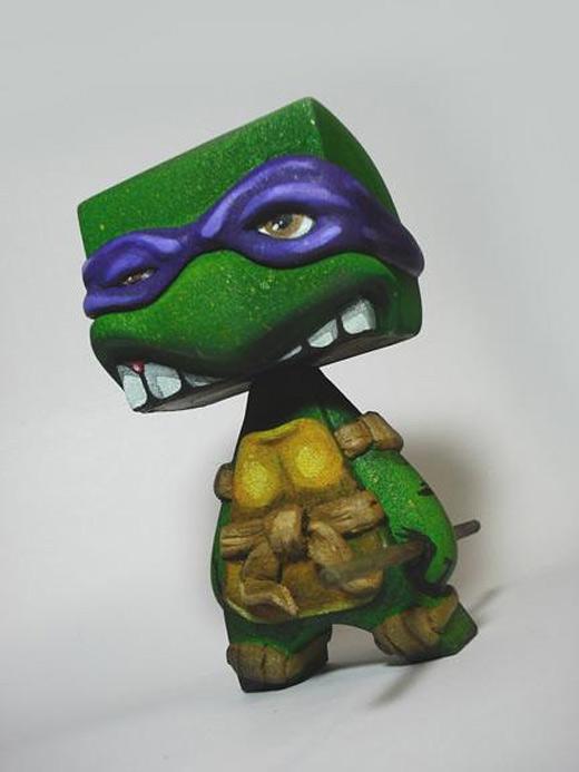 Ninja turtle madl mad vinyl toy