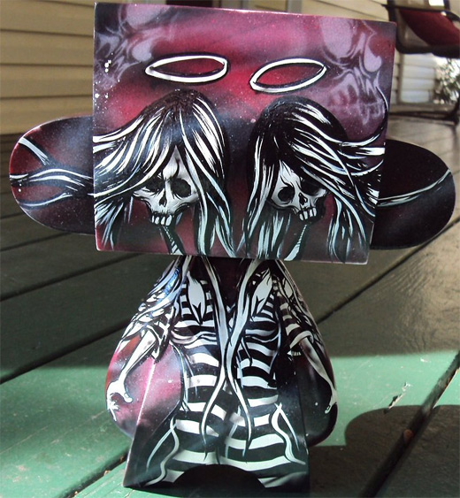 Rock metal punk madl mad vinyl toy