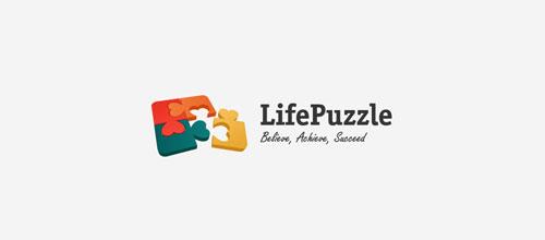 Life Puzzle logo