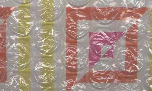 squares under bubblewrap texture